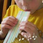 Cómo hacer una flauta casera para los más peques