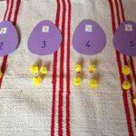 Aprendemos los números con unos simpáticos pollitos
