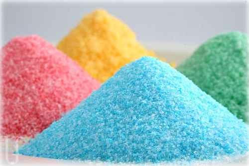 azucar de colores