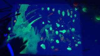 acuarelas fluorescentes