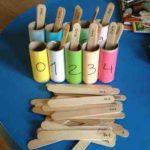 Aprendemos a sumar con palos de polo
