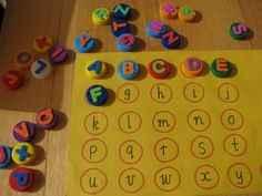 tablero de letras