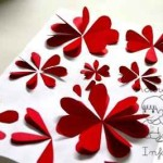 Cómo hacer flores en relieve para decorar vuestra aula