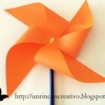 Cómo hacer un molinillo de papel con los peques