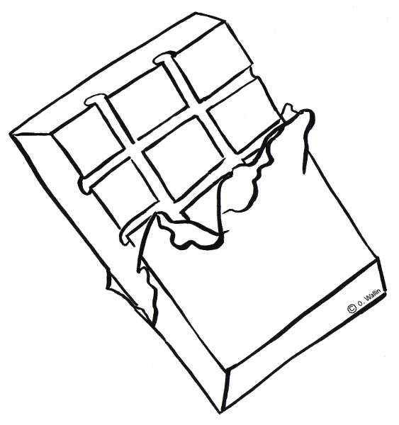 Dibujo De Chocolate Para Colorear Actividades Infantil