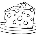 Más dibujos de alimentos para colorear