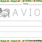 Adivinanza para aprender la letra A y ficha de trazo en pdf