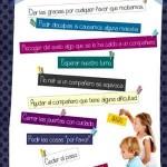 Cartel para trabajar los buenos hábitos con los peques