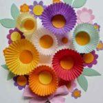 Un bouquet de flores para mamá