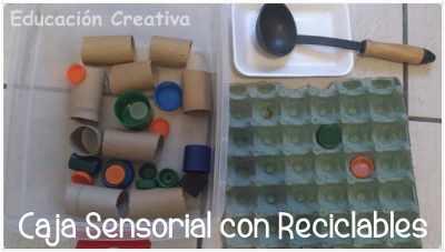 caja sensorial reciclable 1