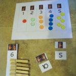 Trabajando los números y el conteo con un sencillo recurso