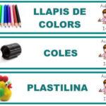Nuevas etiquetas para el aula de infantil
