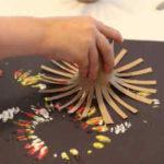Cómo hacer un sorprendente efecto de fuegos artificiales con pintura