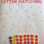 Aprendemos las letras con un árbol lleno de manzanas