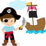 """Trabajando la coordinación óculo-manual con una actividad apta solo para """"piratas"""""""