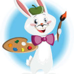 Aprendemos los colores con un juego para los más peques: El conejito pintor