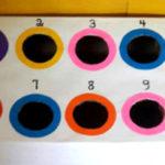 Un juego con bolas de colores para aprender conceptos matemáticos