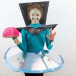 Un disfraz de alien muy divertido